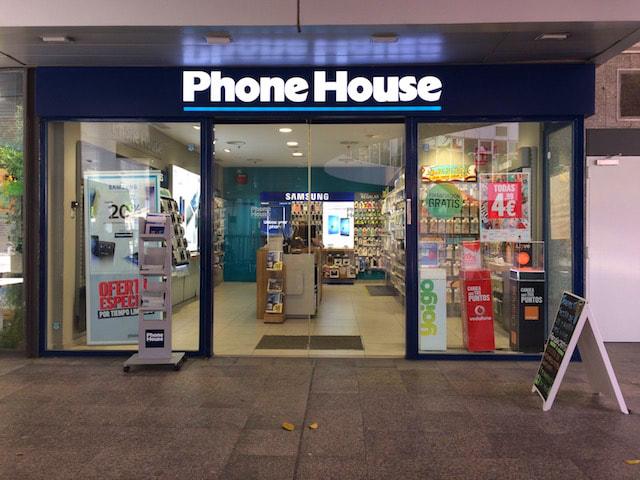 スペインのモバイルショップPhoneHouse