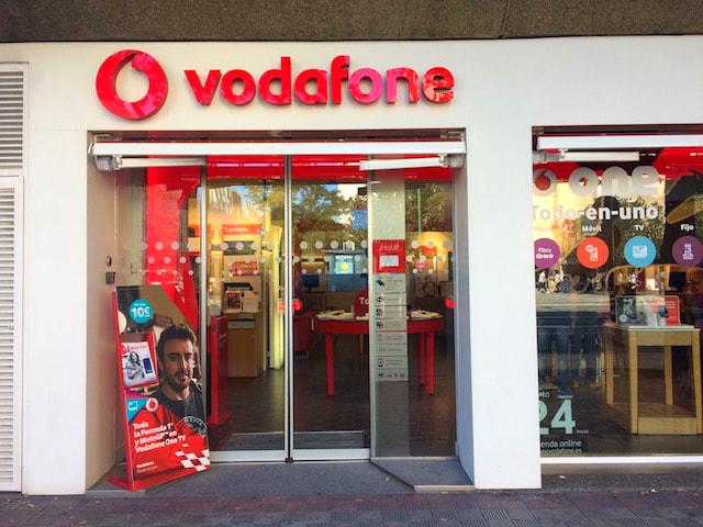 スペインの携帯キャリアVodafone