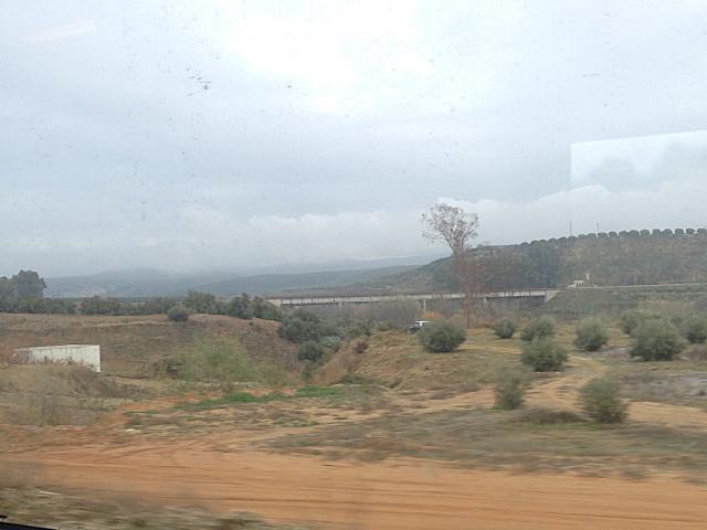 セビリアからアルバセテに向かうTALGO