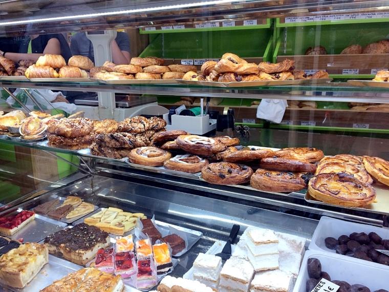 セビリアのパン屋のお惣菜