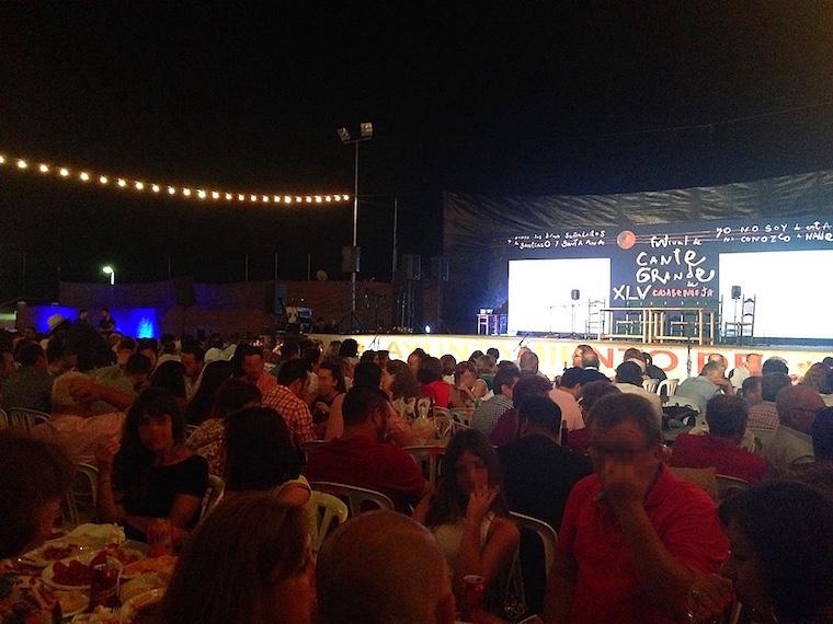 カサベルメハのフラメンコフェスティバル2016