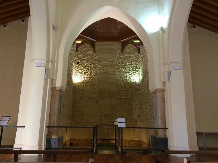 タリファのグスマン城の教会