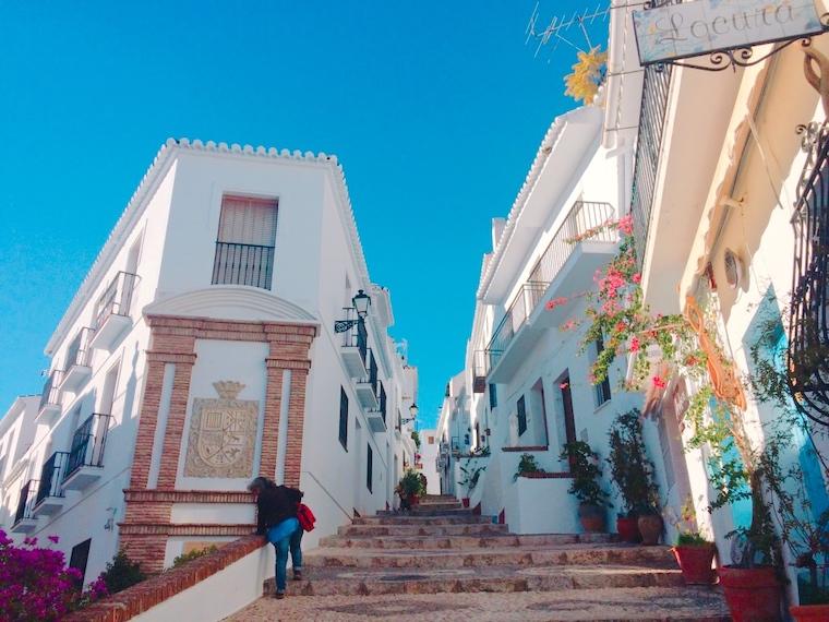 スペインで一番美しい白い村フリヒリアナの入り口