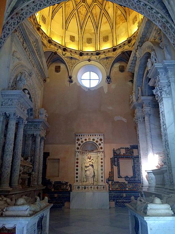 セビリアのカルトゥハ修道院のサロン