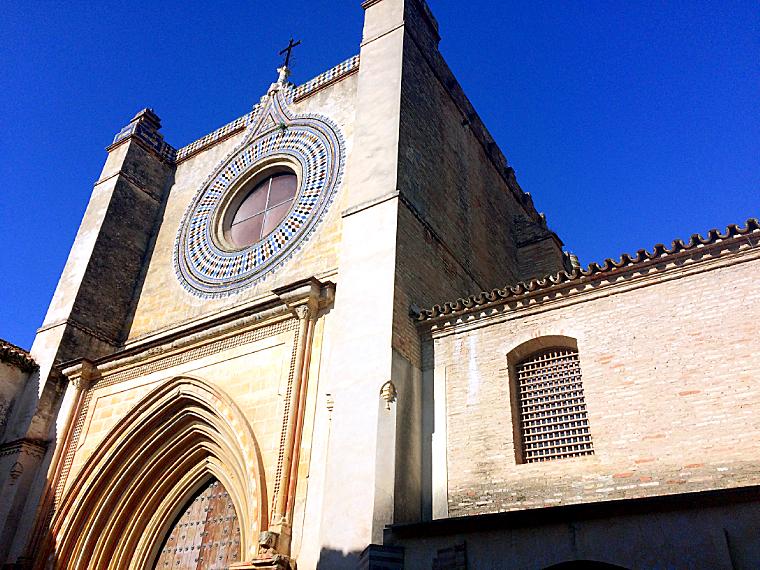 セビリアのカルトゥハ修道院のサンタアナ礼拝堂