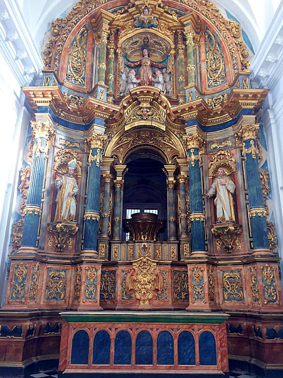 セビリアのカルトゥハ修道院の礼拝堂