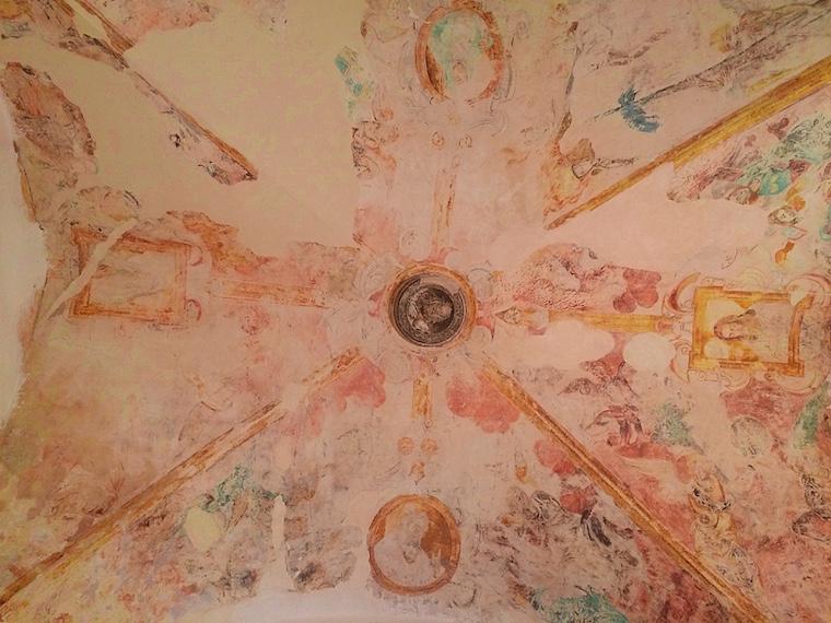 セビリアのカルトゥハ修道院の天井