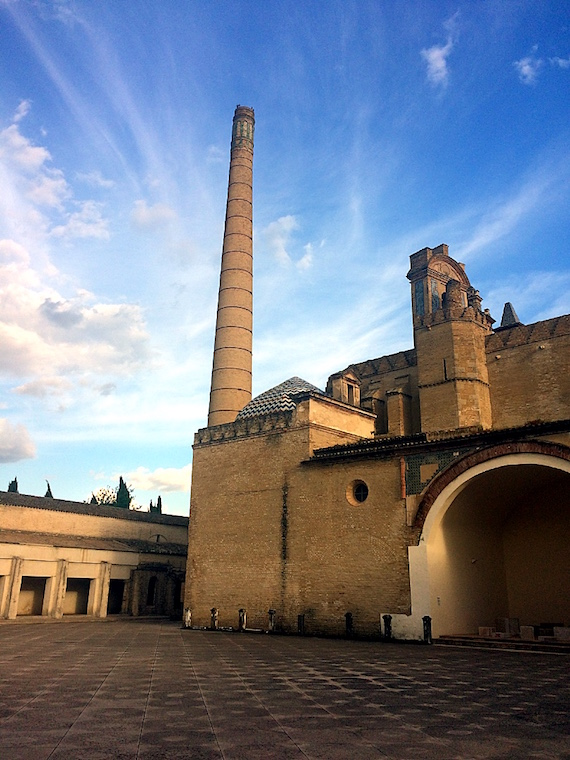 セビリアのカルトゥハ修道院の煙突