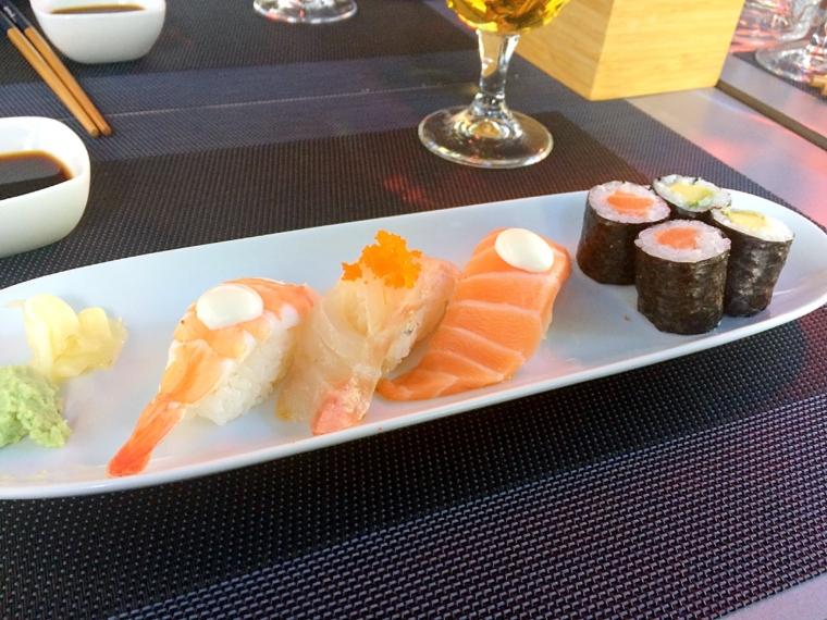 セビリア日本食レストラン山崎の寿司