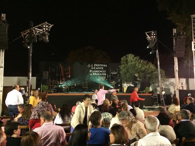 モゲルのフラメンコフェスティバル