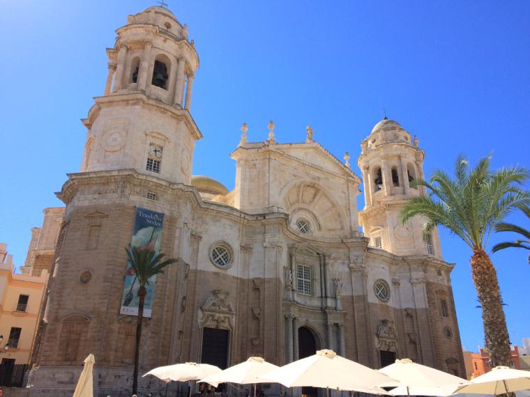 スペインのカディスにあるカテドラル(カディス大聖堂)