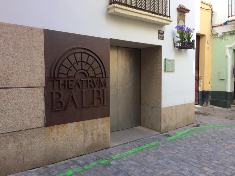 スペインのカディスにあるローマ劇場