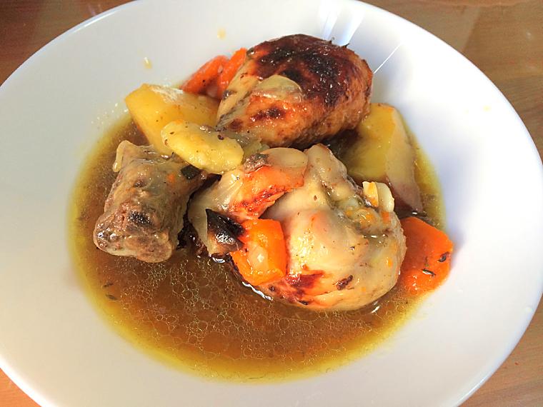 セビリアのパン屋サンタアナの肉のグリルのお惣菜