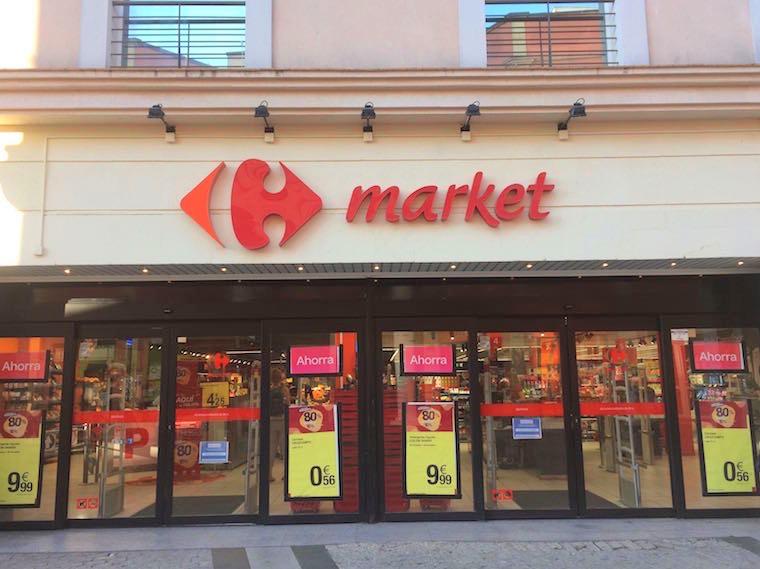 スペインのスーパー「カルフールマーケット」