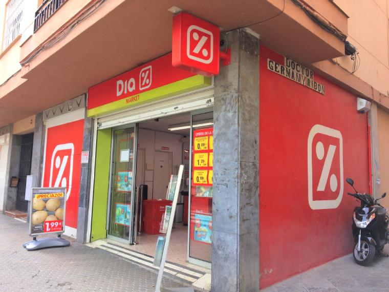 スペインのスーパー「Dia」