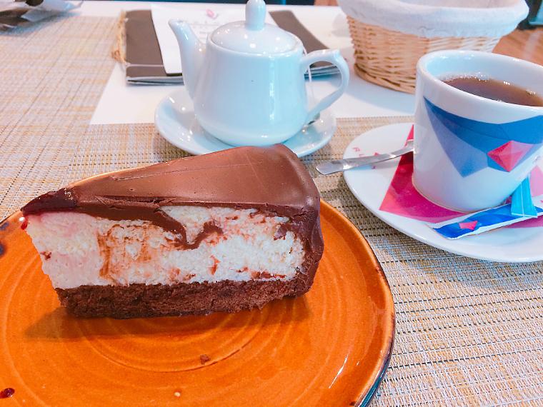 セビリアのレストラン「Velouté」のデザート
