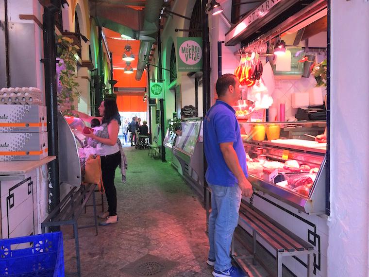 セビーリャのフェリア市場
