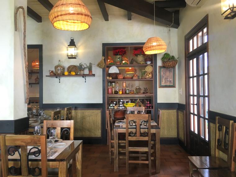 ハブーゴのレストラン「Las Bellotas」