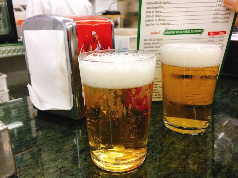 スペインのバルとビール