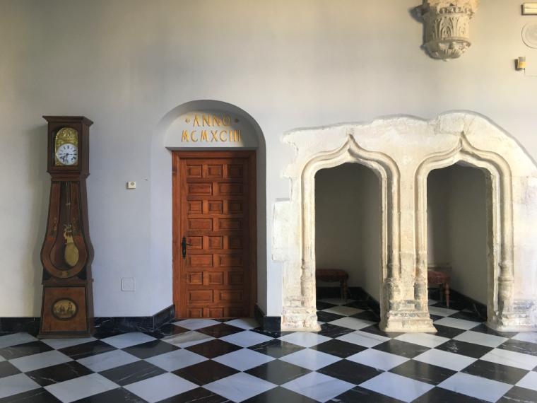 クエンカのパラドールの内装