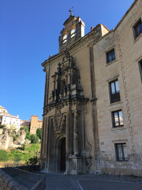 元修道院だったクエンカのパラドール