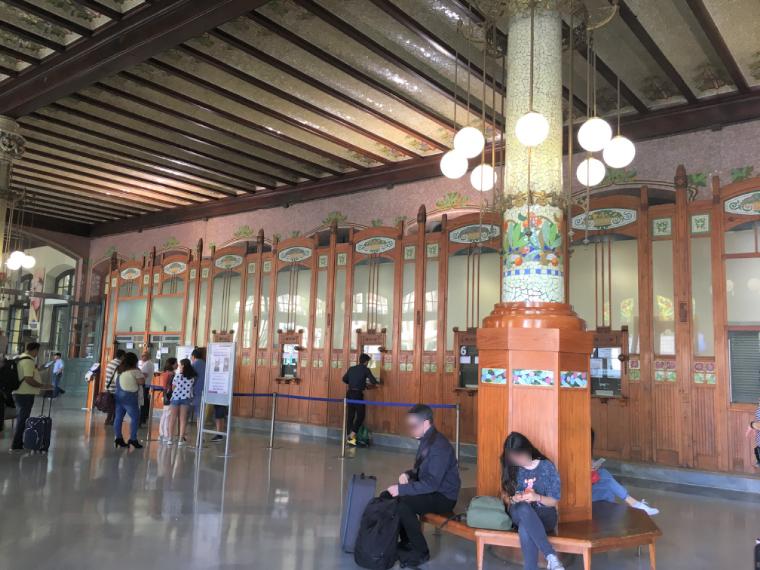 バンレシアのノルド駅