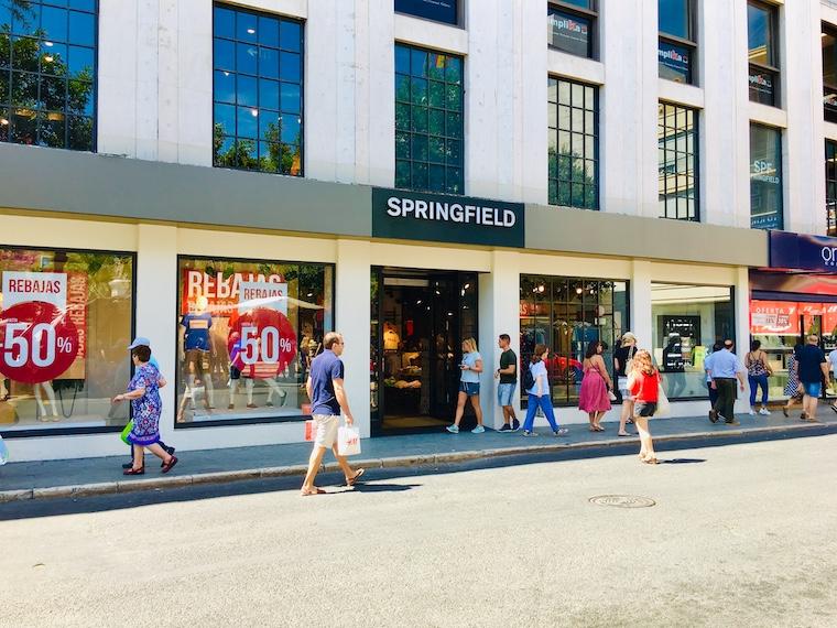 スペインのファストファッションブランド「SPRING FIELD」