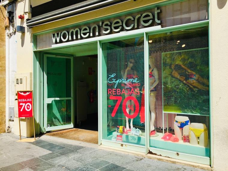 スペインのファションブランド「women'secret」
