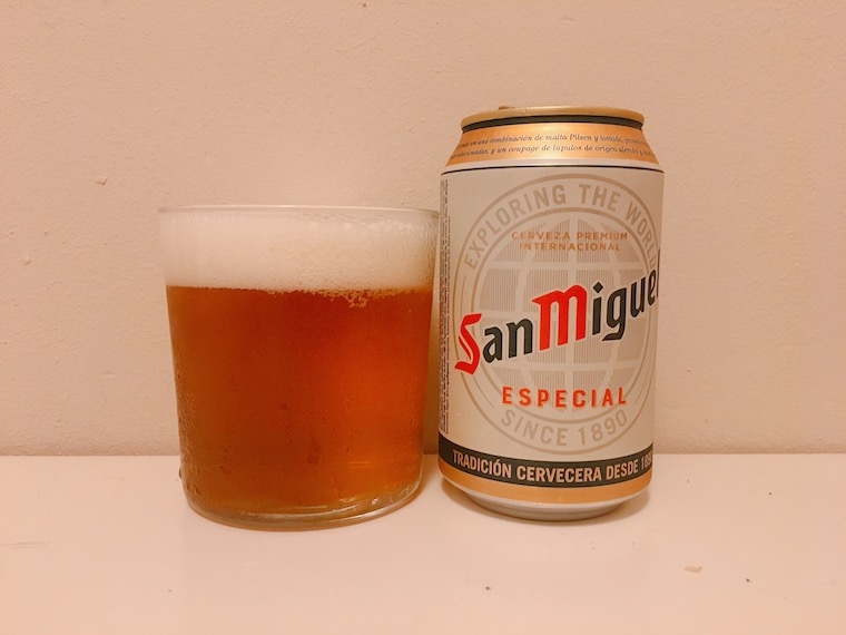 カタルーニャ州のビール「サンミゲル」