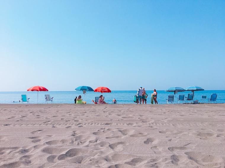 リンコン・デ・ラ・ビクトリアのビーチ