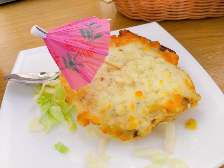 サンルーカルのバル「Taberna Juan」のホタテ貝
