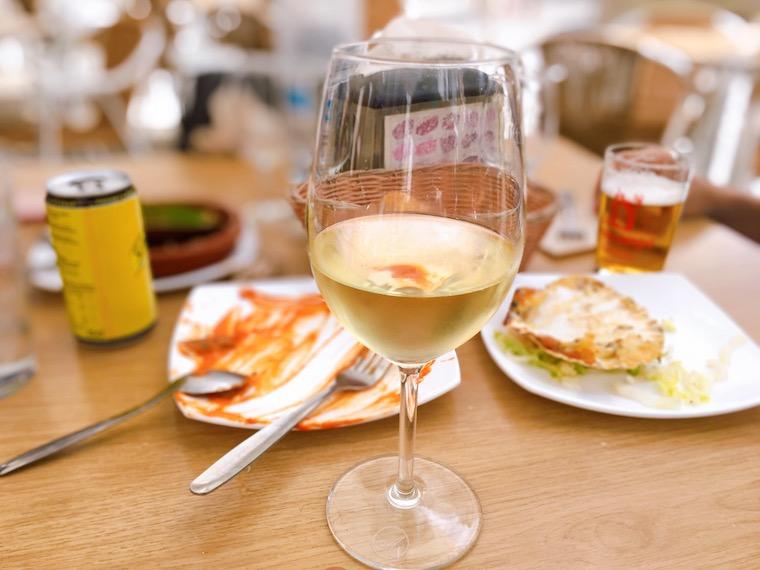サンルーカルのバル「Taberna Juan」のシェリー酒