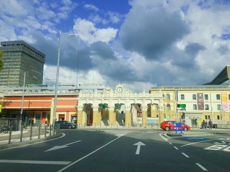 サンセバスチャンの鉄道駅