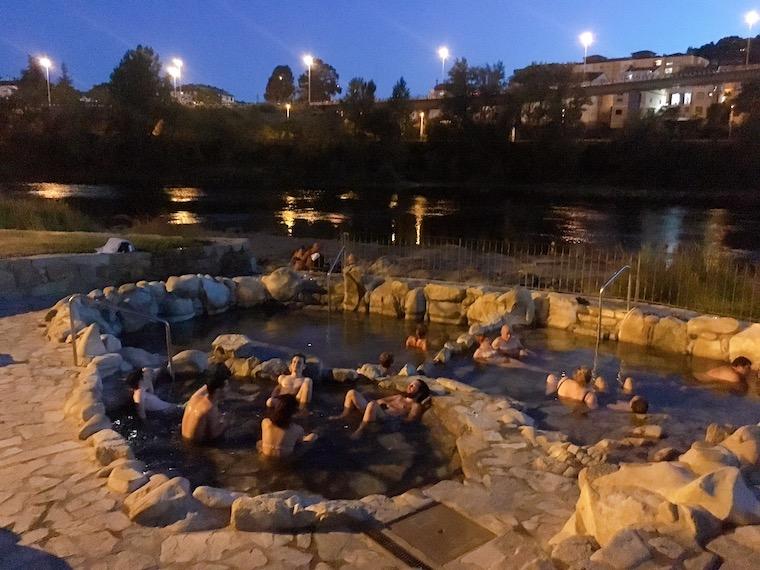 オウレンセの温泉「termas chavasqueira」