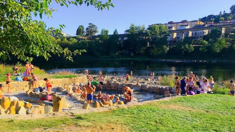 スペインで温泉へ!オウレンセの無料露天風呂で極楽〜の巻【北スペイン旅行記】