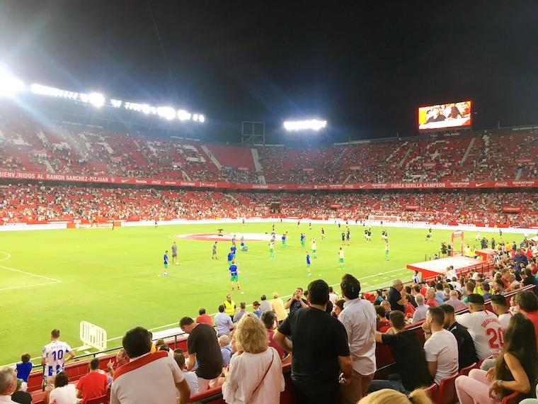 セビージャFCのラモン・サンチェス・ピスファン・スタジアム
