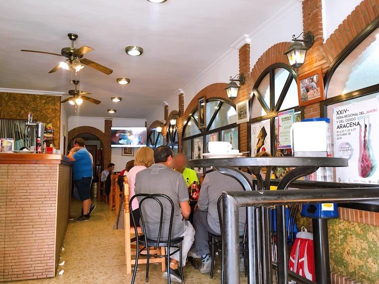 アラセナのバル「cafe bar san pedro」