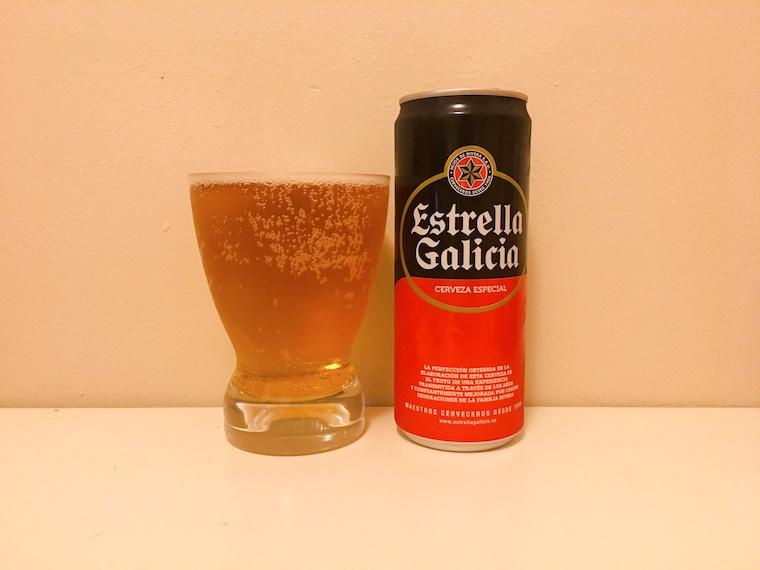 スペインの缶ビール エストレージャ・ガリシア「Estrella Galicia」