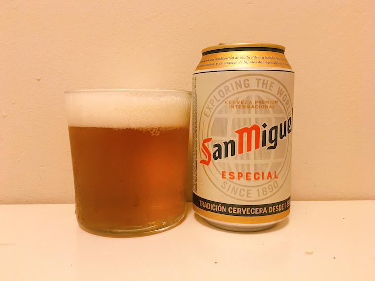 スペインの缶ビール サンミゲル「San Miguel」