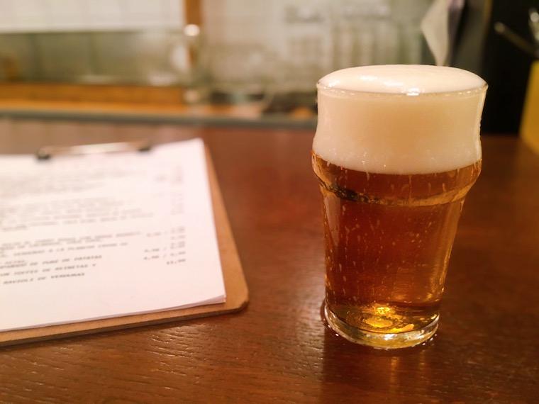 セビリアのクラフトビールバル「maquila」のクラフトビール