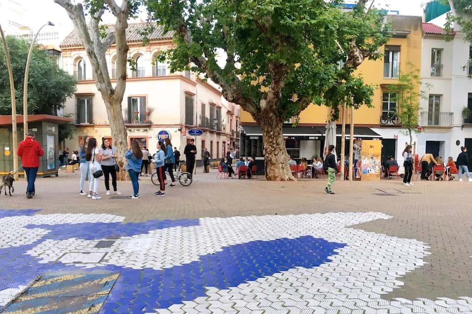 スペイン外出禁止緩和のフェーズ1 セビリア