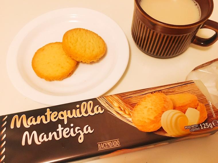 ヨックモックみたいなメルカドーナのバタークッキー