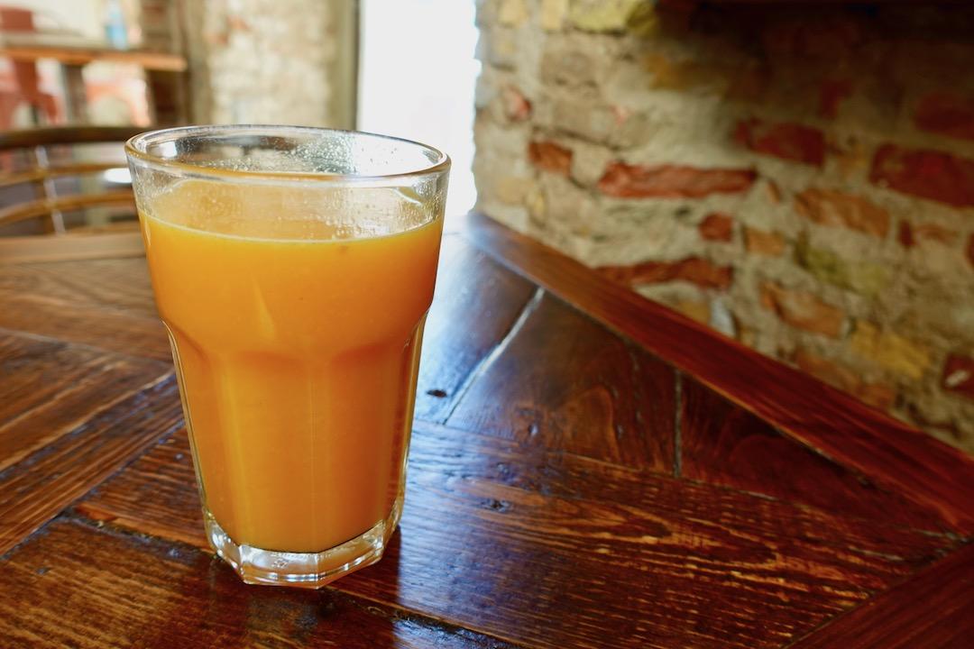 セビリアのカフェparadas 7 のスムージー