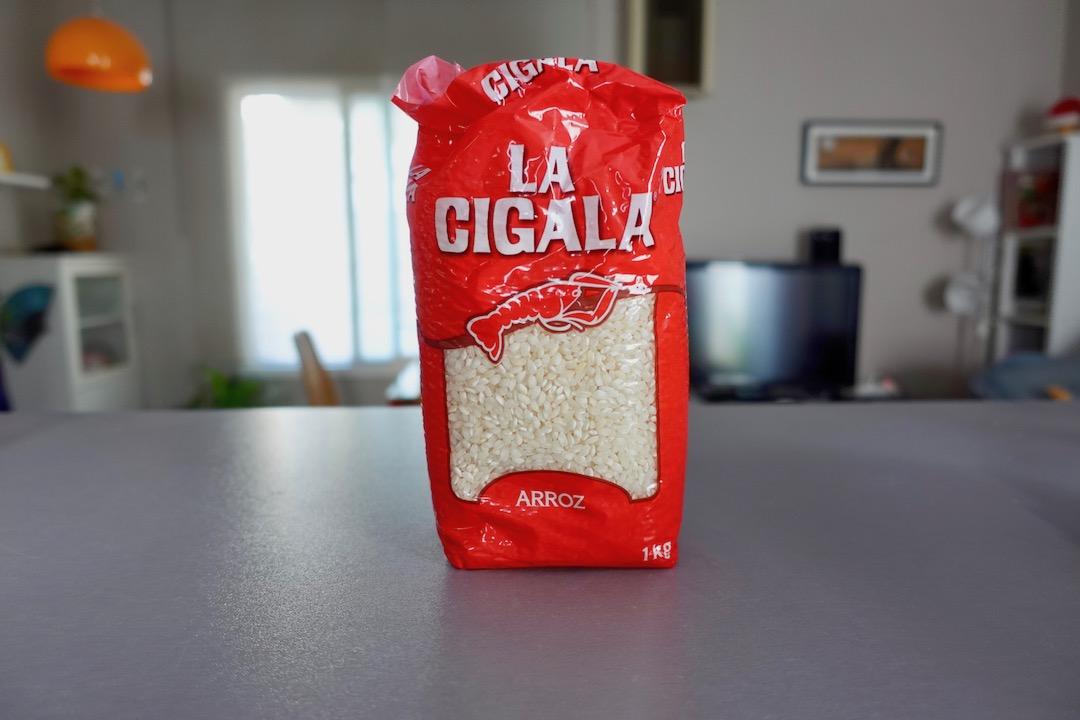 スペインの日本米に近いお米