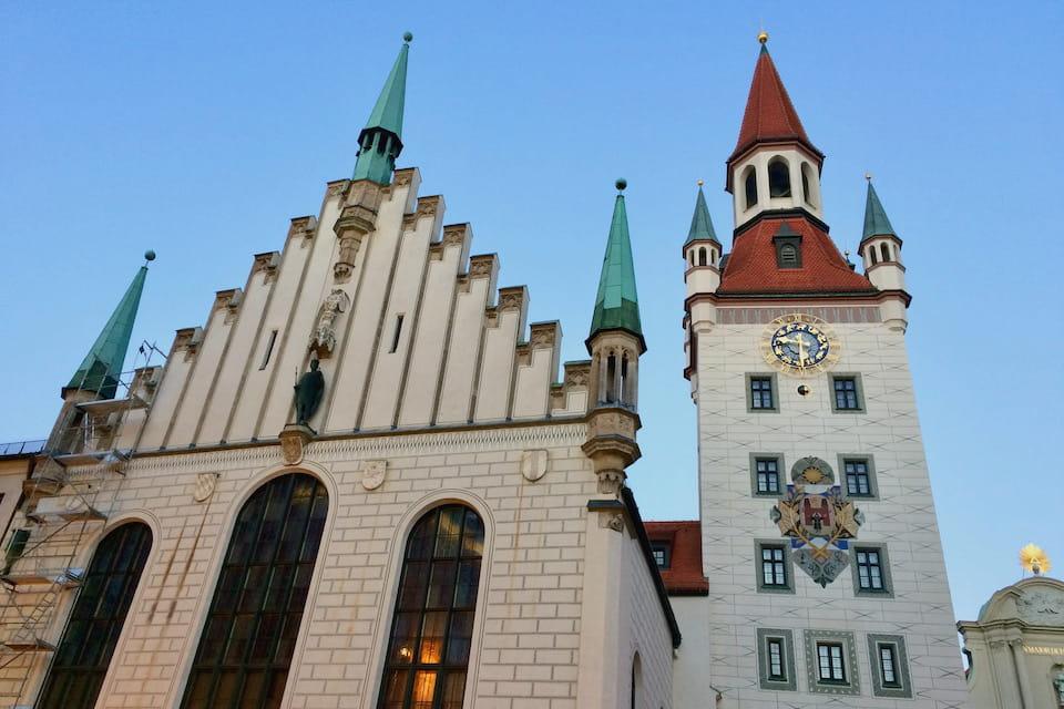 ミュンヘンの旧市庁舎
