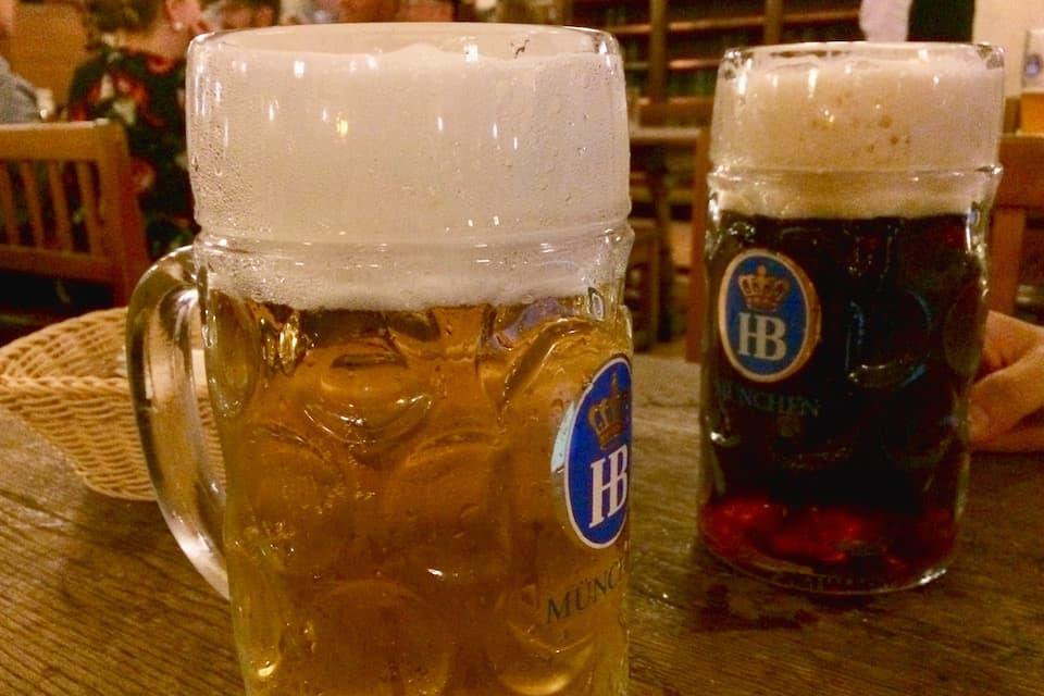 ホフブロイハウスのビール