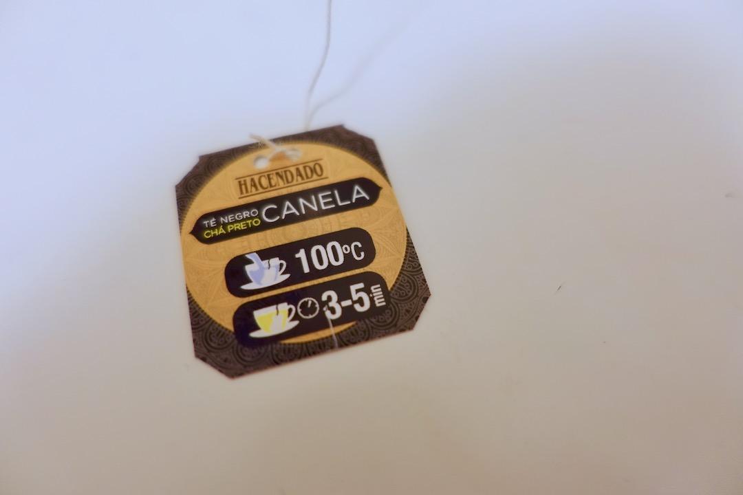 メルカドーナのお茶