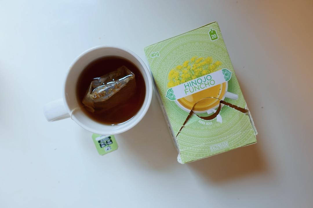 メルカドーナのお茶hinojo