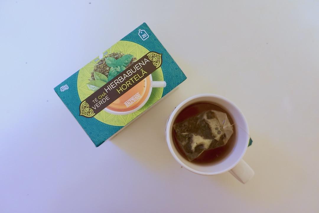 メルカドーナのミント緑茶