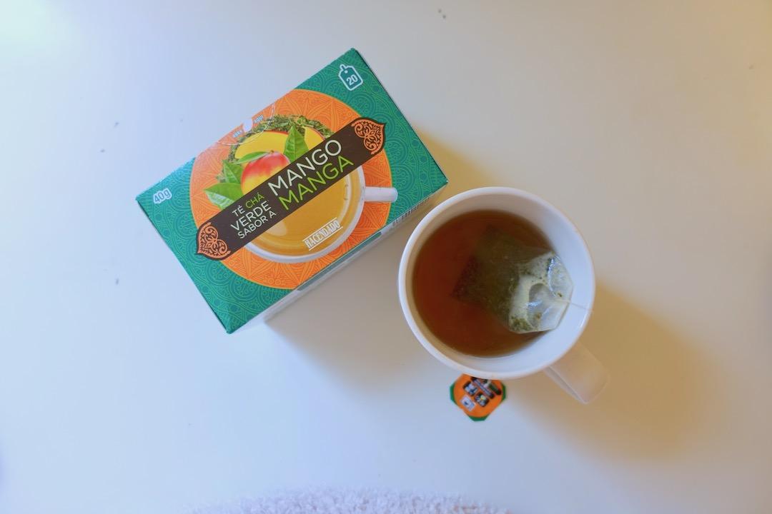 メルカドーナのマンゴー緑茶